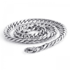 Horsewhip Chain Jewelry Personality Popular Necklace Titanium Steel Chain Wholesale